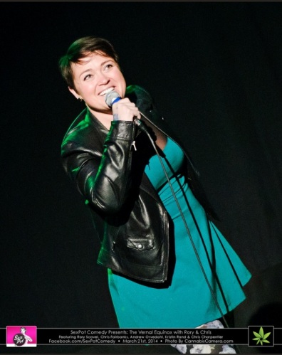 The Lovely Kristin Rand.  Photo Courtesy of SexPot Comedy
